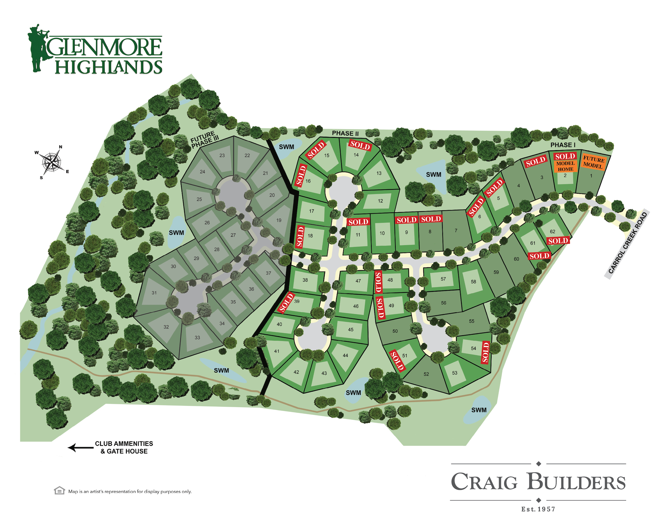 Image 4 - Craig Builders home in Glenmore (albemarle)